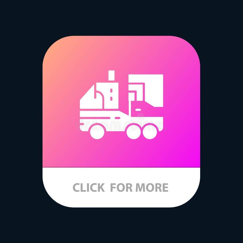 Künstlich, Biologie, Digital, Blatt, Leben mobiler App-Knopf Android und IOS-Glyph-Version stock abbildung