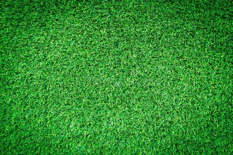 Künstliche Beschaffenheit des grünen Grases für Design stockbild