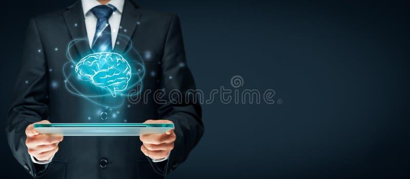 Künstliche Intelligenz lizenzfreie stockfotos