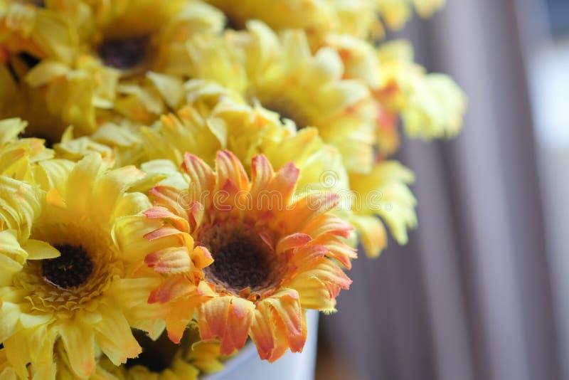 Künstliche Sonnenblume lizenzfreie stockbilder