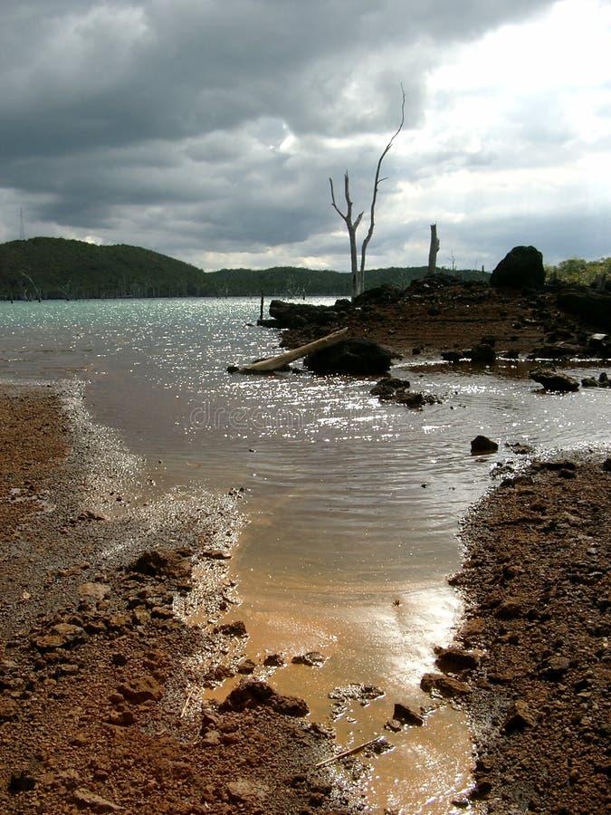 Künstlicher See lizenzfreie stockfotos