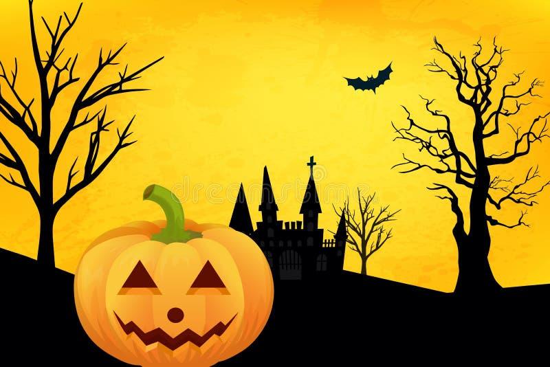 Kürbis auf Halloween lizenzfreie stockbilder