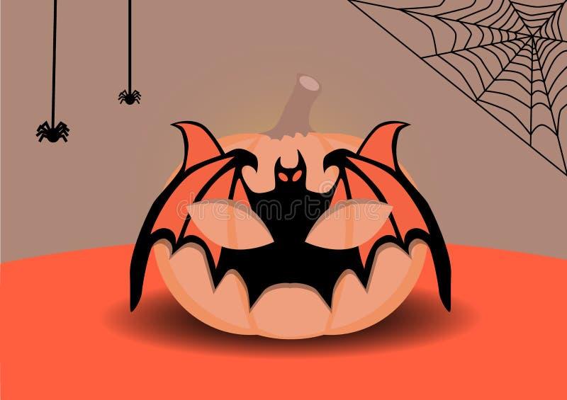 Kürbis für Halloween lizenzfreies stockfoto