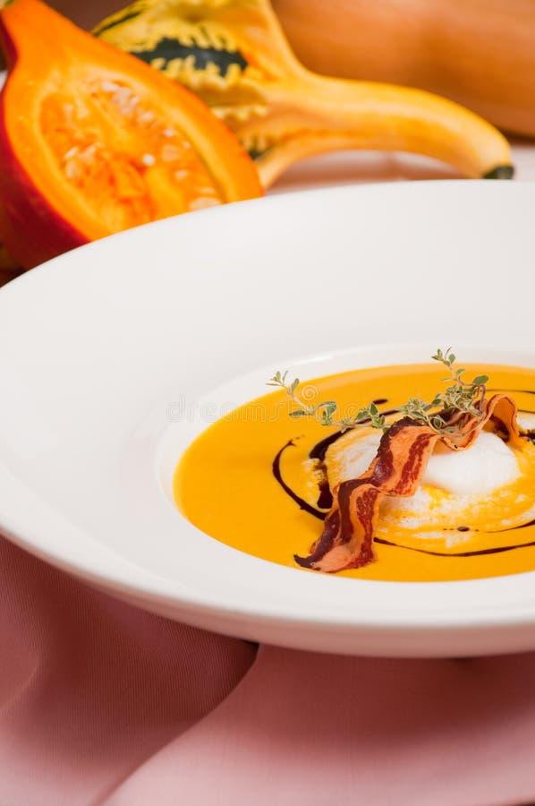 Kürbis-Suppe 3 lizenzfreies stockbild