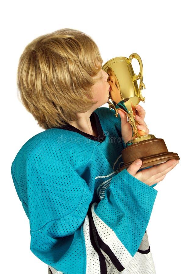 Küssen Sie das Cup lizenzfreies stockbild