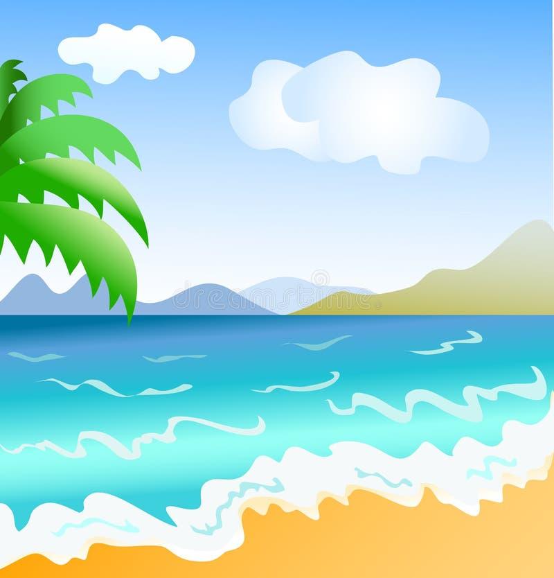Küste lizenzfreie abbildung