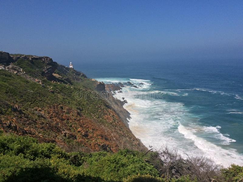 Küste lizenzfreies stockbild
