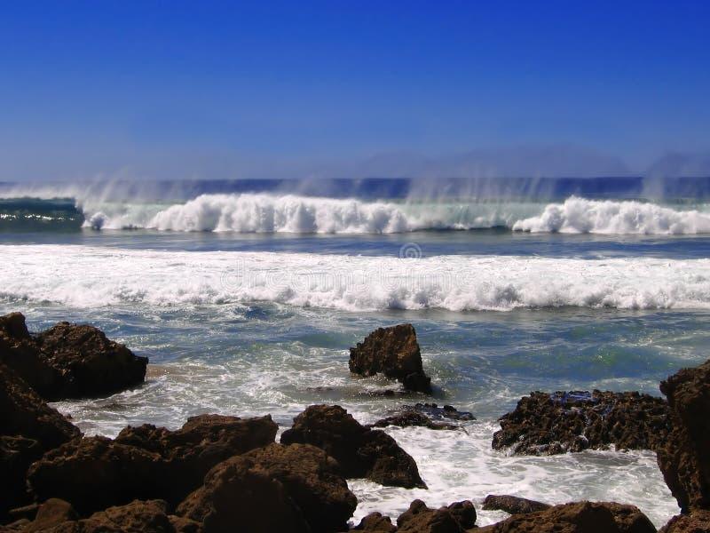 Küste in Cornwall, England lizenzfreie stockfotografie