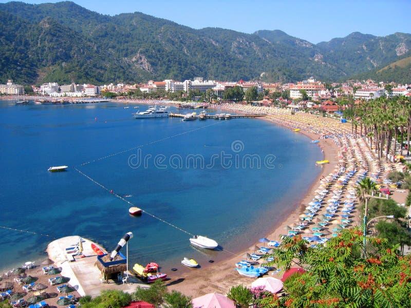 Download Küste der Türkei-Icmeler stockbild. Bild von wasser, tourismus - 9076877