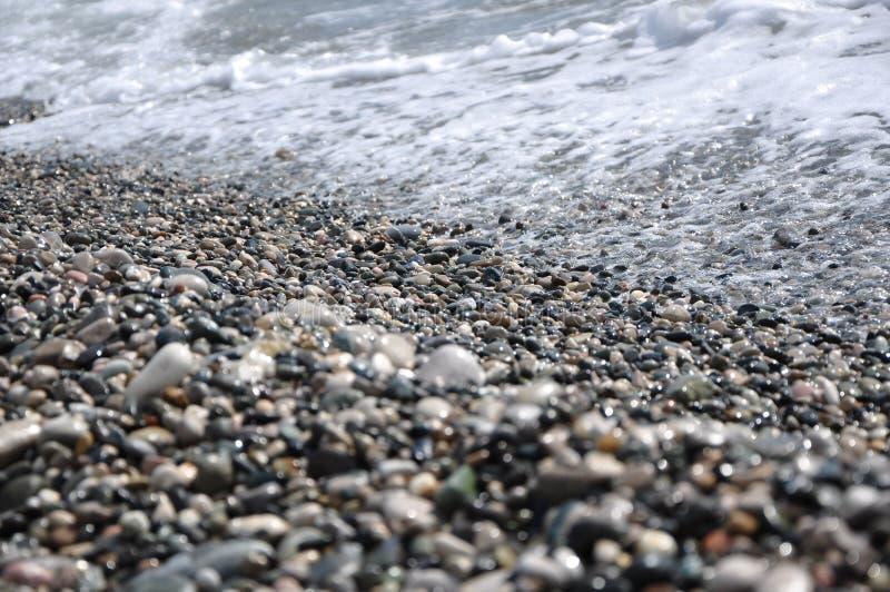 Küste des Schwarzen Meers Krim, Ukraine stockfotografie