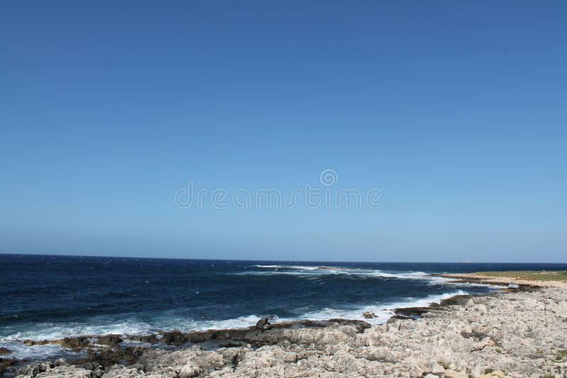 Küste Malta lizenzfreies stockfoto