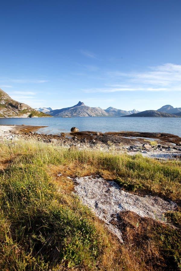 Küste Norwegen lizenzfreies stockbild