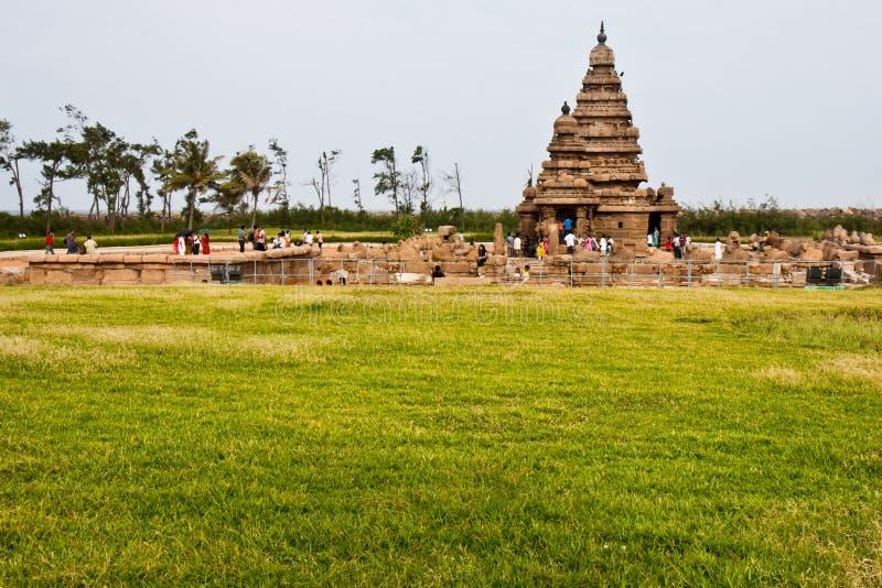 Küste-Tempel stockfotos