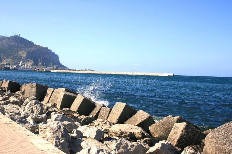 Küste Und Mittelmeer. Stockbild