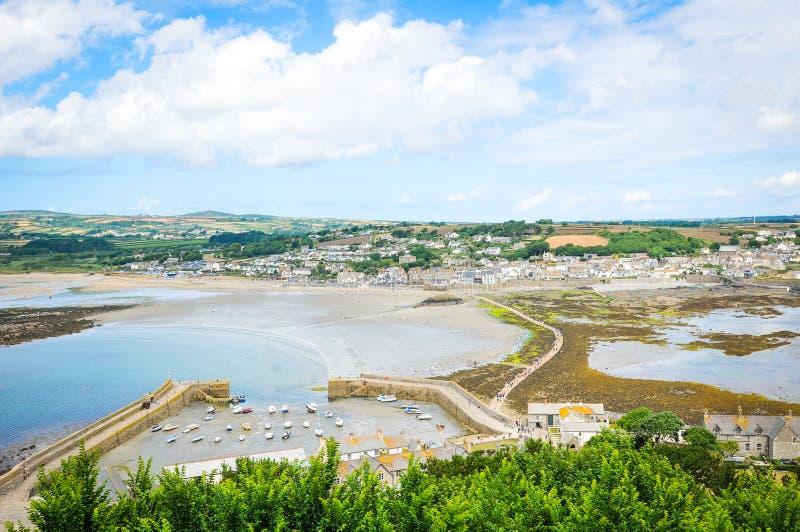 Küste von Cornwall lizenzfreies stockbild