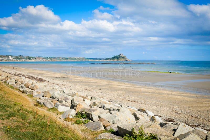 Küste von Cornwall stockbilder