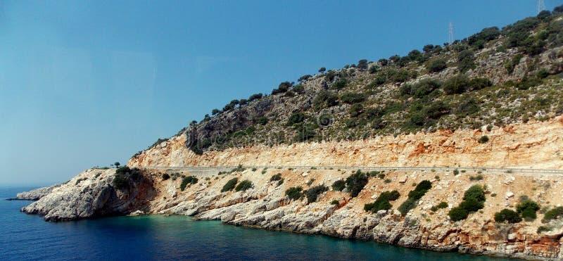 Küste von der Türkei lizenzfreies stockfoto