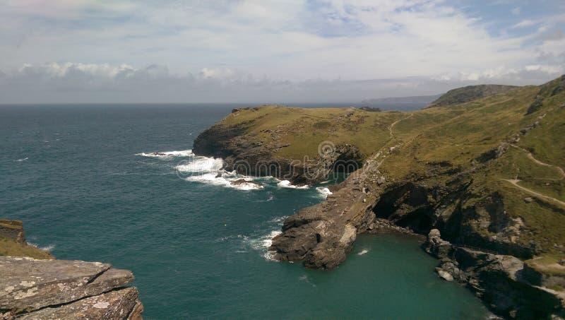 Küste von England stockbilder
