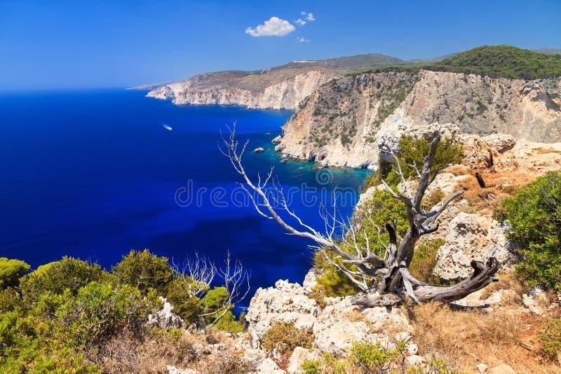 Küste von Keri stockbilder