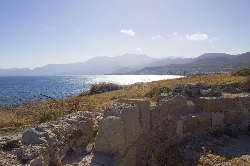 Küste von Kreta lizenzfreies stockbild