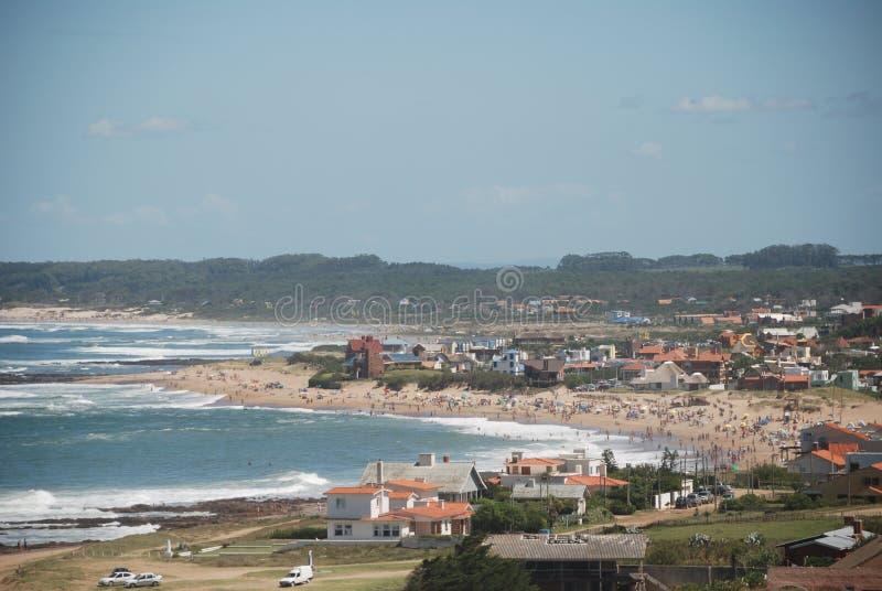 Küste von La Paloma stockfoto