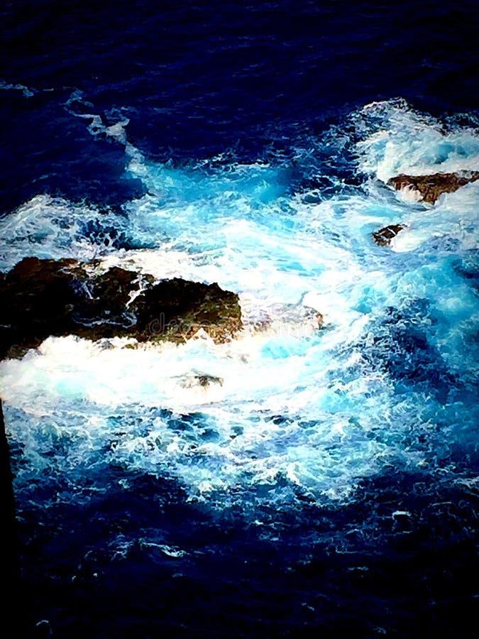 Küste von Maui stockbilder