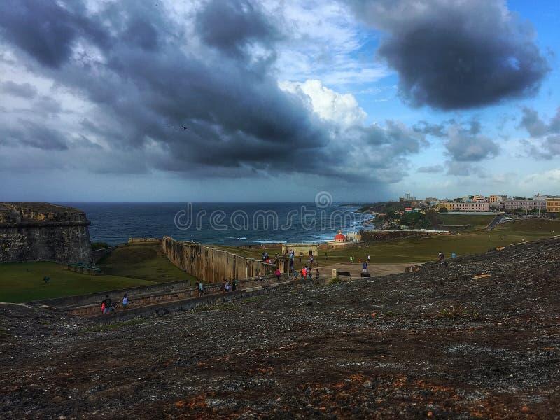 Küste von San Juan lizenzfreie stockfotos