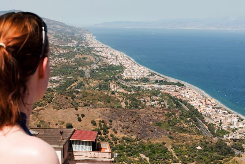 Küsten-Ansicht stockfotos