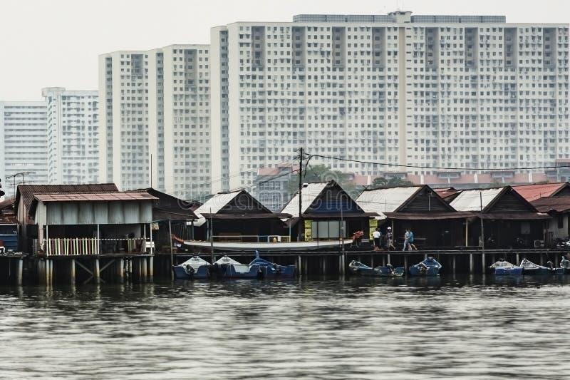 Küsten-Architektur lizenzfreie stockbilder