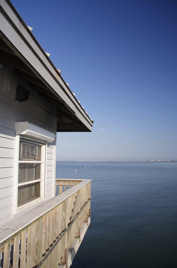 Küsten-Haus lizenzfreie stockbilder