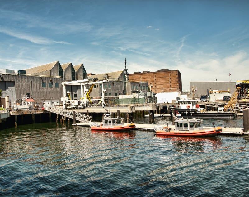 Küsten-Wachschiffe lizenzfreies stockbild