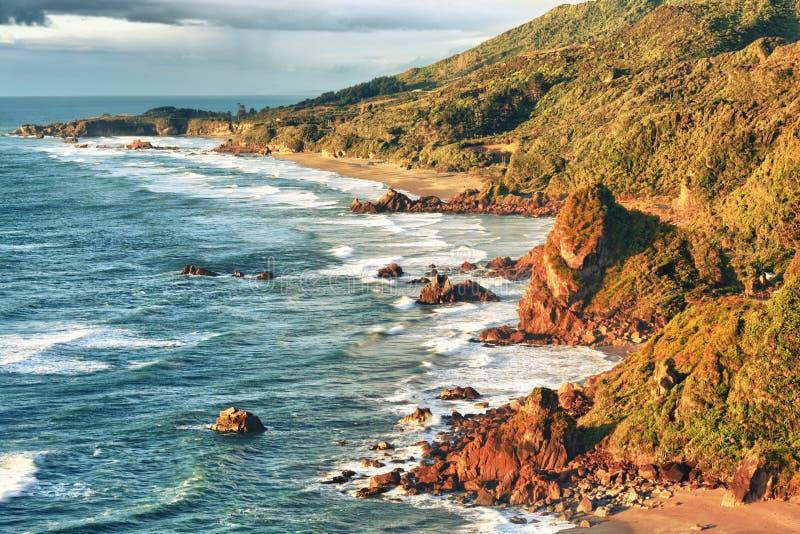 Küstenansicht lizenzfreie stockbilder