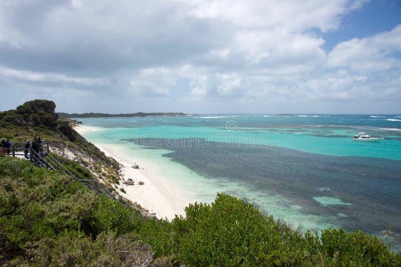 Küstenansichten in Rottnest-Insel lizenzfreie stockfotografie