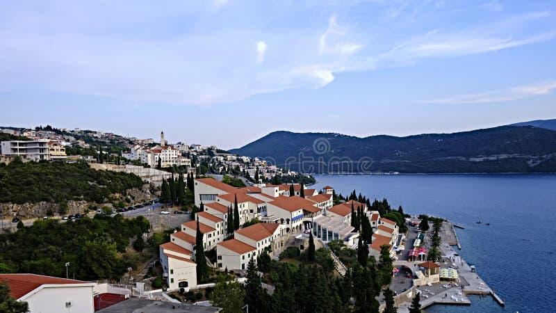Küstendalmatien, Kroatien lizenzfreies stockbild