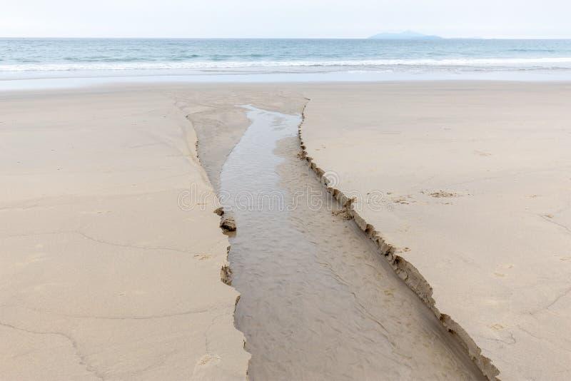 Küstenerosionswasser stockbilder