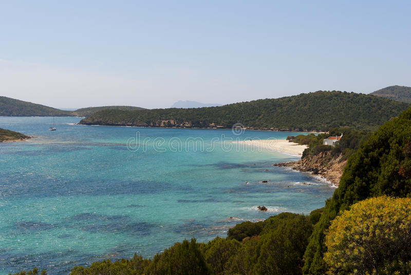 Küstenlinie von Sardinien