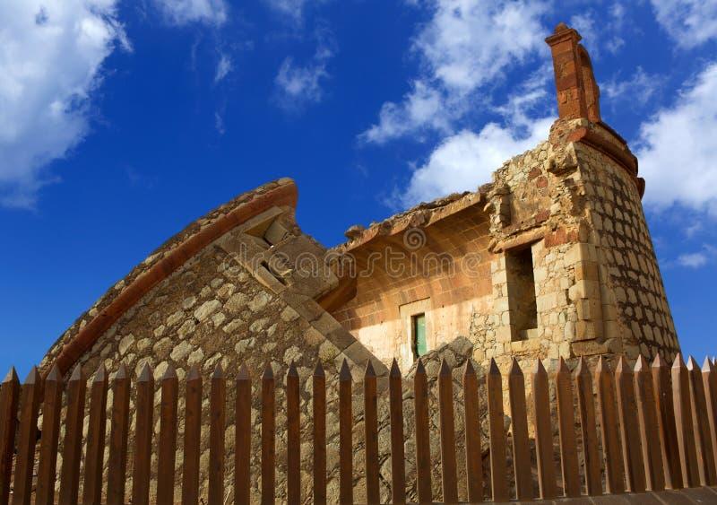 Küstenschloss turm castillo Des San Andres in Teneriffa lizenzfreies stockbild