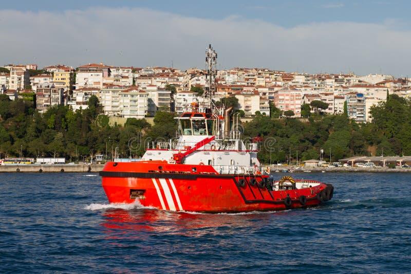 Küstensicherheits-Boot stockfotos