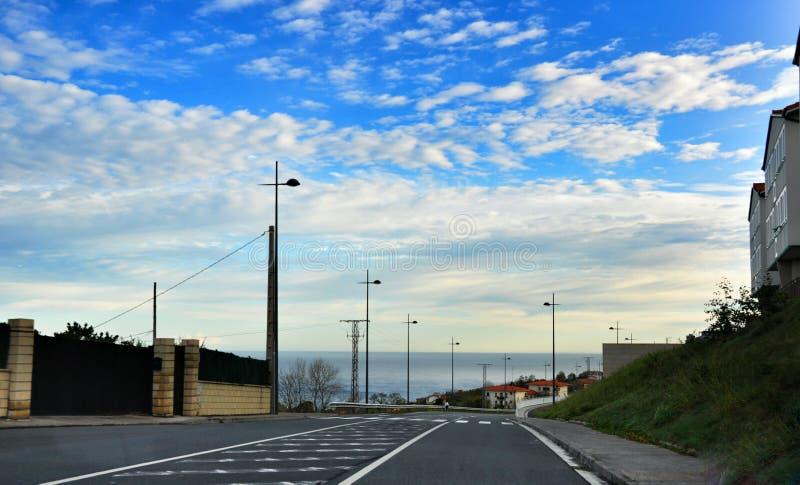 Küstenstraße stockfotos