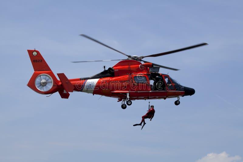 Küstenwache-Rettung stockfoto