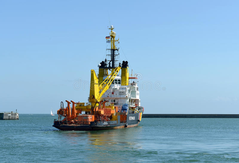 Küstenwache Ship stockbilder