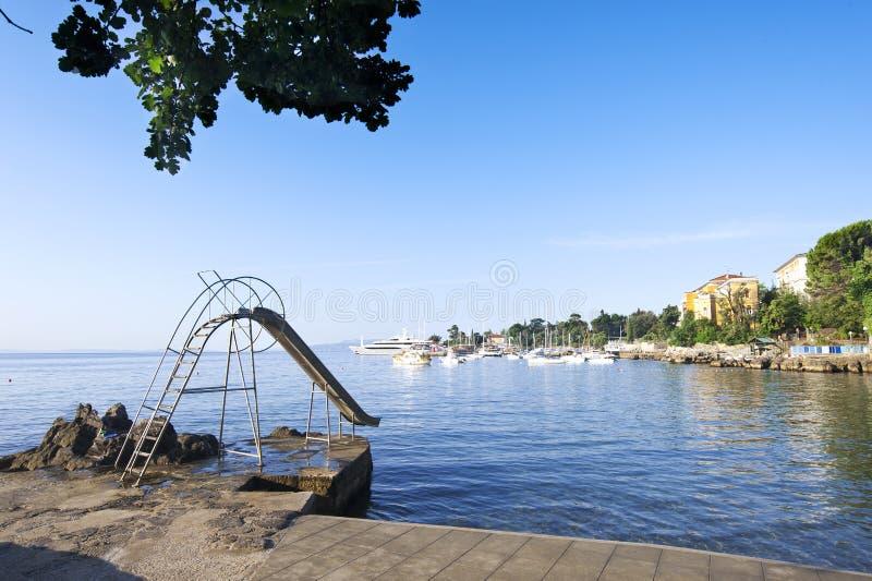 Download Küstevorstand in Opatija stockbild. Bild von alleine - 26365481