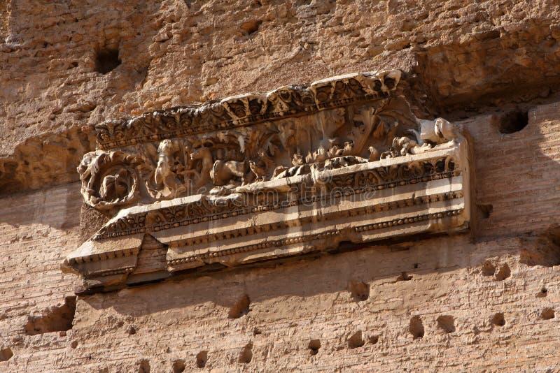 kąpać się caracalla Rome obraz royalty free