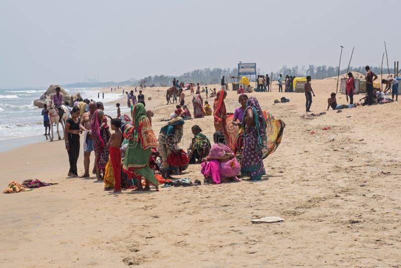 Kąpać się w zatoce bengalskiej zdjęcie stock