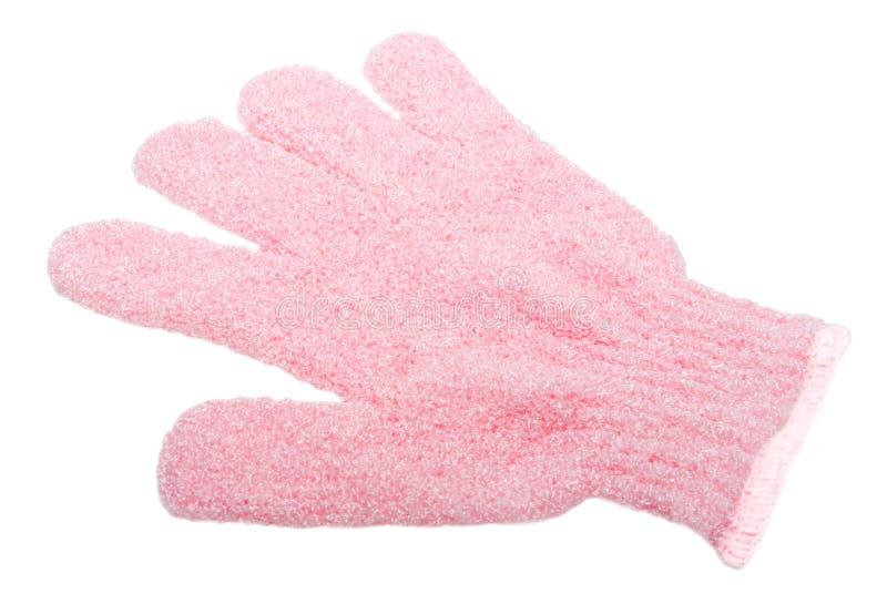 Kąpanie rękawiczki zdjęcie royalty free