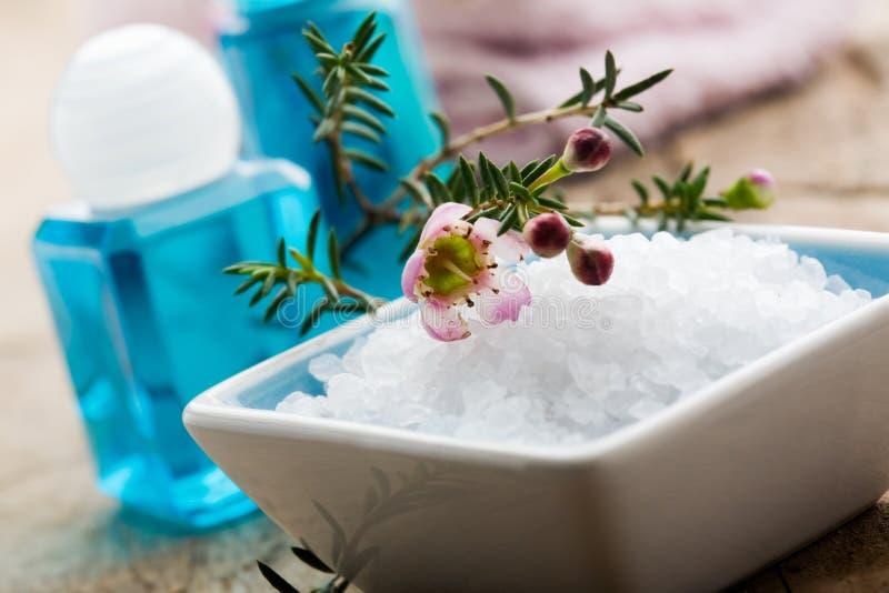 kąpielowa sól obrazy stock