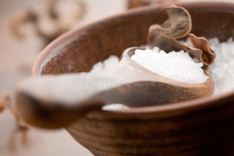 kąpielowa sól zdjęcie stock