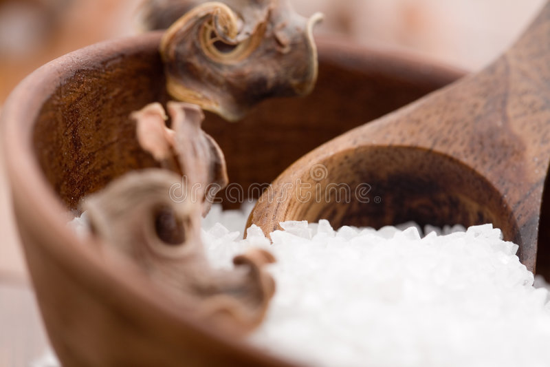 kąpielowa sól zdjęcia stock