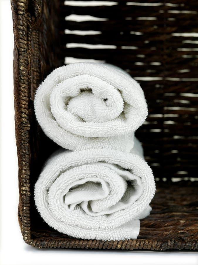 Download Kąpielowi ręczniki obraz stock. Obraz złożonej z biały - 13325503