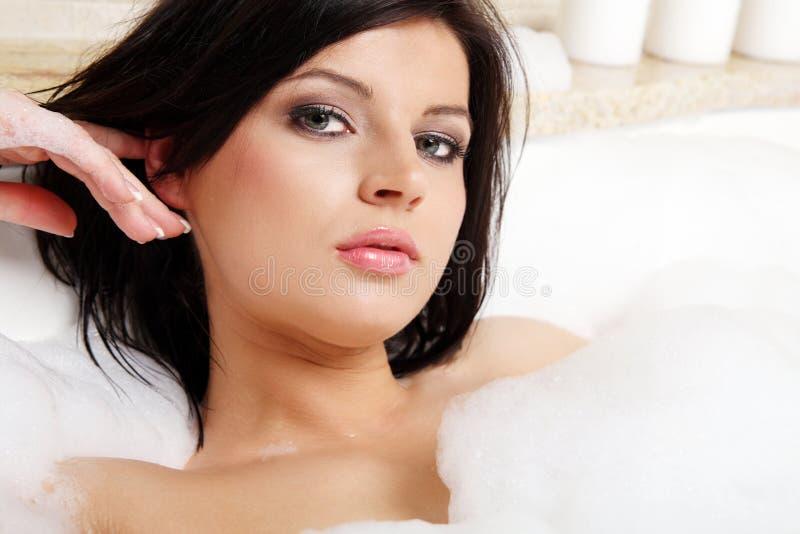kąpielowy bąbel fotografia stock